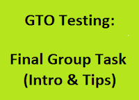 Final Group Taskin SSB: Intro & Tips