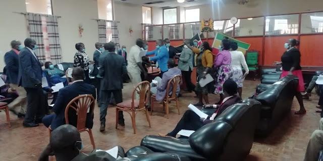 10 Baringo KANU MCAs heading to court to block 30 MCAs photo