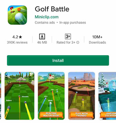 8. Golf Battle