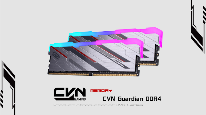 COLORFUL Intros CVN Guardian and WARHALBERD DDR4 Memory Series