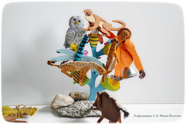 пальчиковые игрушки- кабан-орангутан-мартышка-гепард-стрекоза-сова