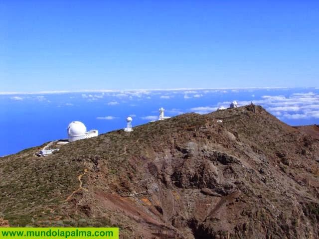 El Consejo Insular de Aguas adjudica las obras de conducción de las aguas residuales del Observatorio del Roque de Los Muchachos