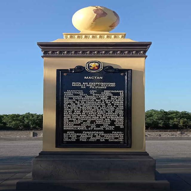 mactan historical marker