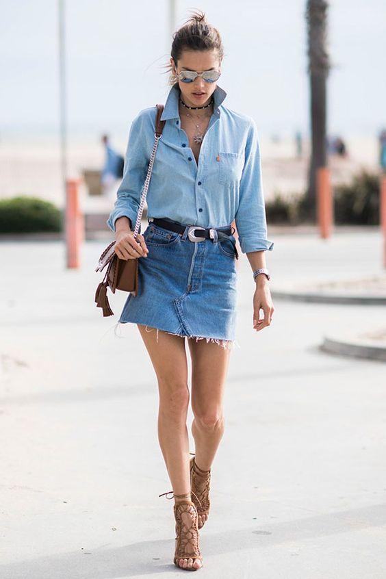 Camisa feminina -  9 maneiras de usar Blog Cris Felix