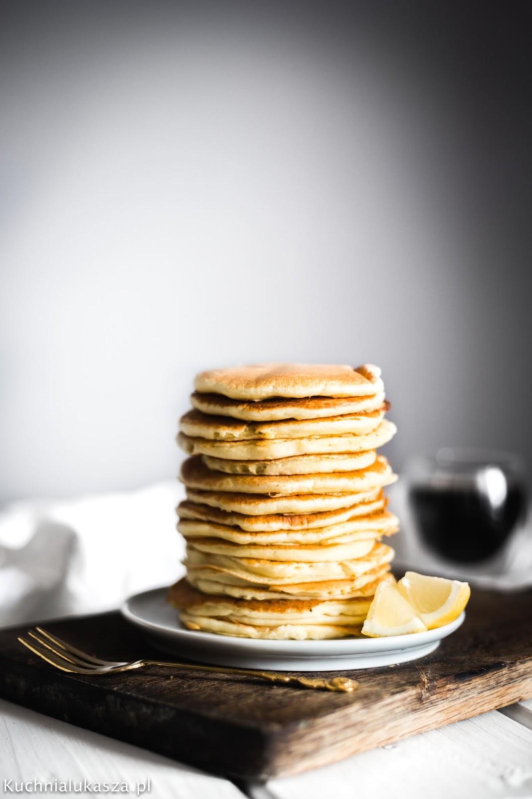 Idealne placuszki Amerykańskie - Pancakes (pankejki)