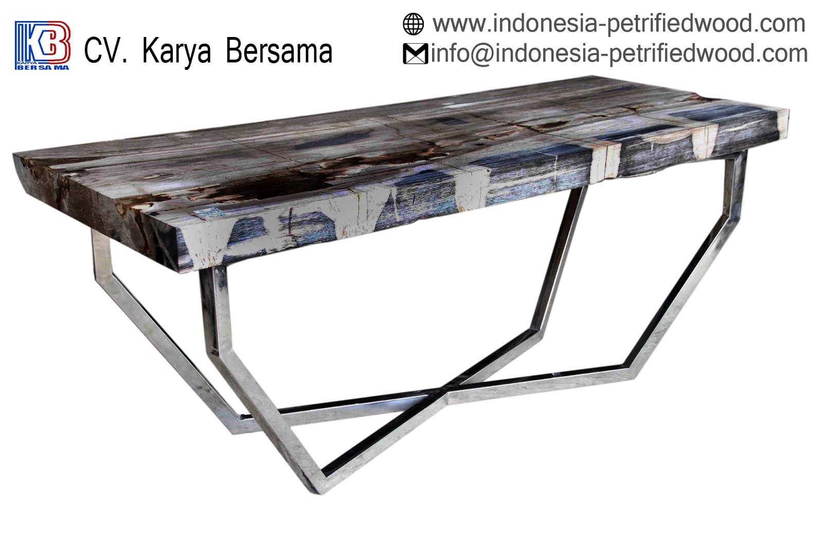 petrified wood coffee table | Petrified wood manufacture