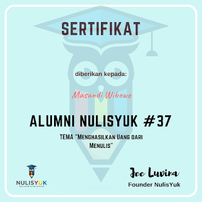 Alumni nulisyuk batch 37