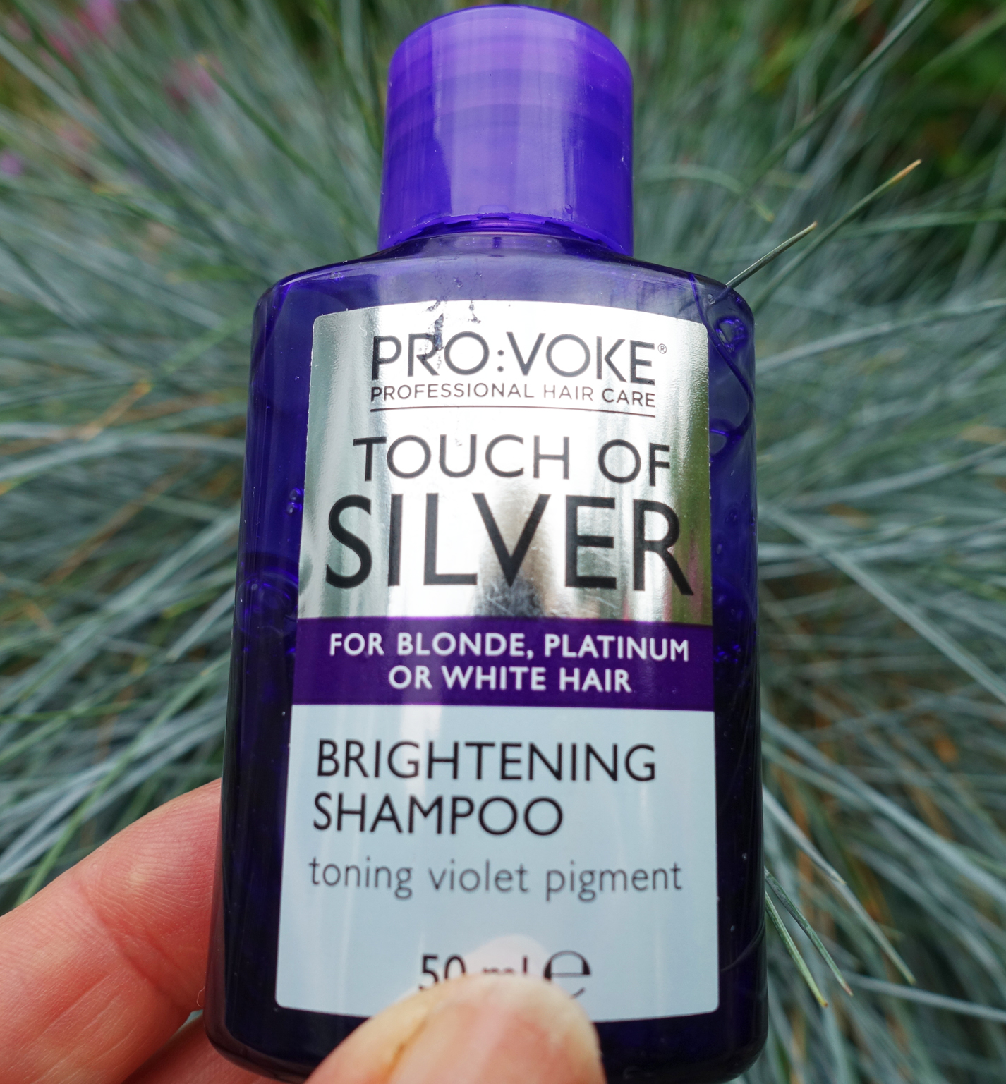 A cheap shampoo that delivers: Touch of Silver shampoo is reviewed by Is This Mutton? and works beautifully to neutralise brassy tones in highlighted hair