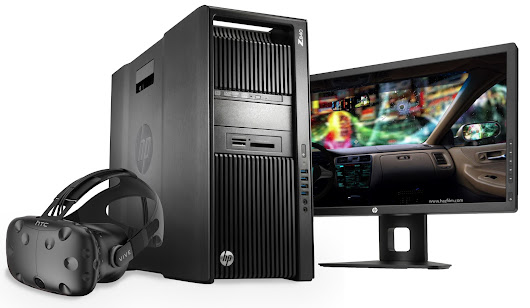 Hp Announces VR Ready Z Workstations Powered by Nvidia...