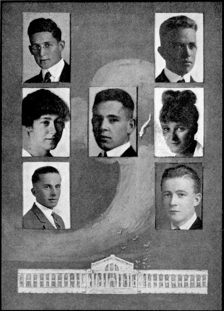 1916 Yearbook Oakland Tech