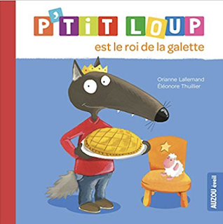 La galette des roi for french for kids class