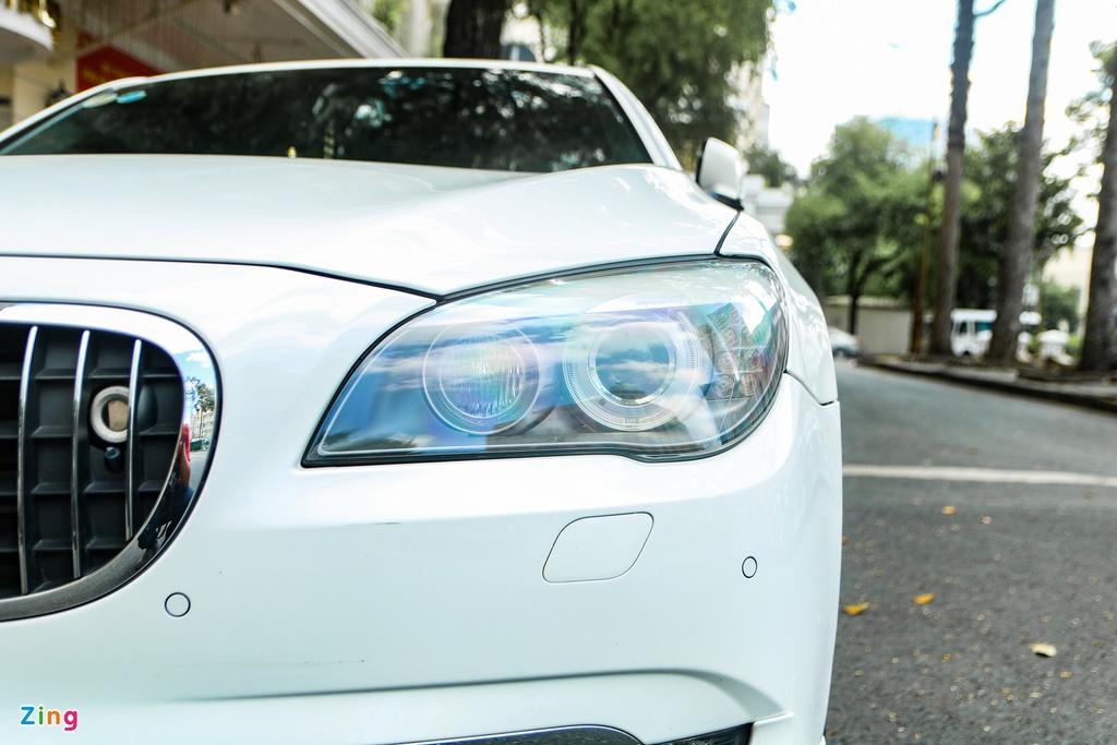 'Siêu sedan' Alpina B7 10 năm tuổi tái xuất tại TP.HCM
