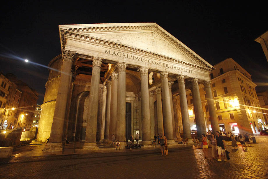 Ancient Romans and Modern Italians, Pantheon Rome