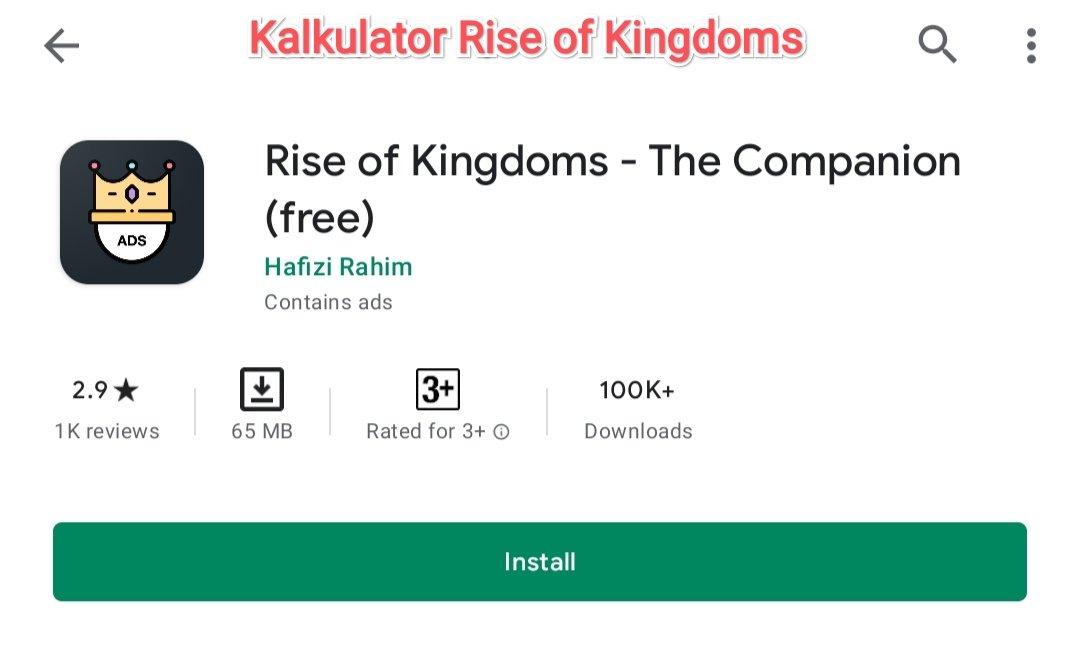kalkulator rise of kingdoms rok calculator