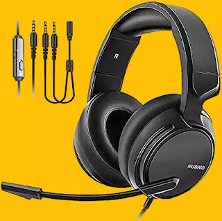 gaming headset with noise cancelling