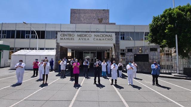 Personal del IMSS rinde homenaje a quienes han fallecido por COVID-19 y reconoce el trabajo del equipo médico que salva vidas
