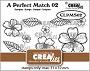 Set van 9 clearstempels om boeketjes bloemen te maken (boeket B). Set of 9 clear-stamps to make bouquets of flowers (bouquet B).