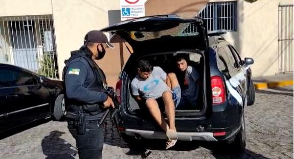 Polícia Civil prende dupla por tráfico de drogas e receptação  em Cidade do RN