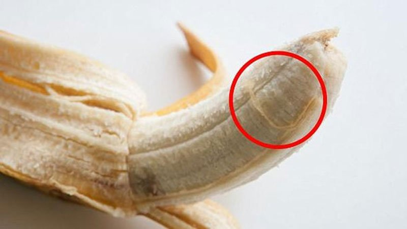Benefits of banana filaments and why they shouldn't be disposed of when eating them ?