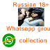 Russian 18+ whatsapp group links