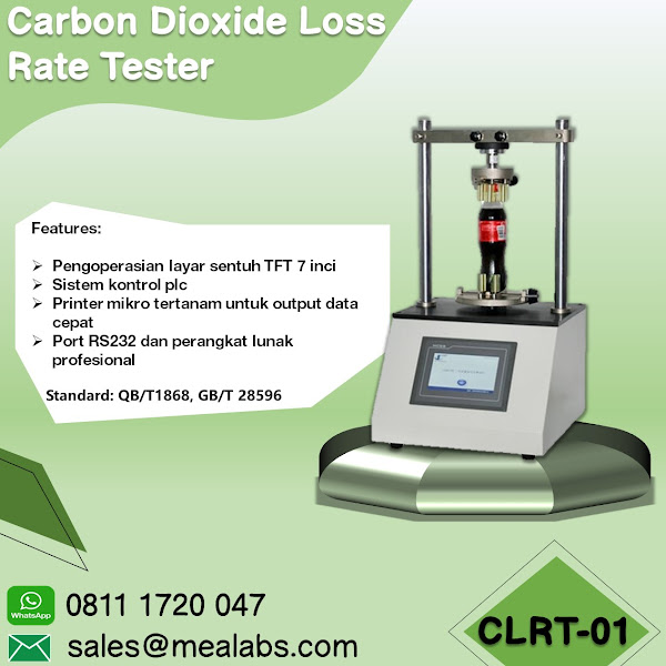 CLRT-01 Carbon Dioxide Loss Rate Tester