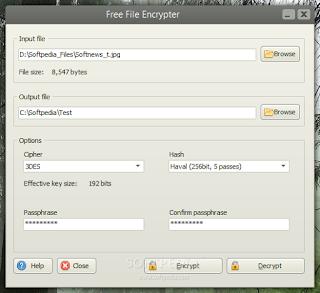برنامج Free File Encrypter 2020 يساعدك على تشفير الملفات السرية وتأمينها على جهاز الكمبيوتر،ويمكنك تشفير الصور والمستندات بكلمة سر