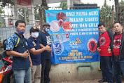 BERSEJARAH, Bulan Bhakti Agus Tahun 2020 Agus Community Launching Makan Sate-Gule Gratis di Masa Pandemi