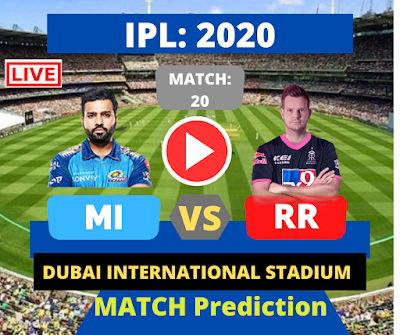 IPL 2020: Match 20: RR vs MI IPL live streaming, Who will win today? when and where to watch matches