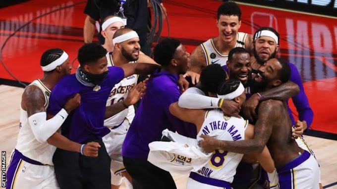 NBA Finals: Los Angeles Lakers beat Miami Heat with LeBron James MVP