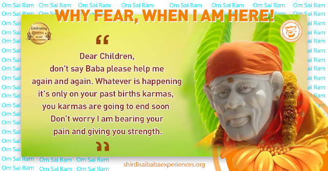 Praying Baba - Anonymous Sai Devotee
