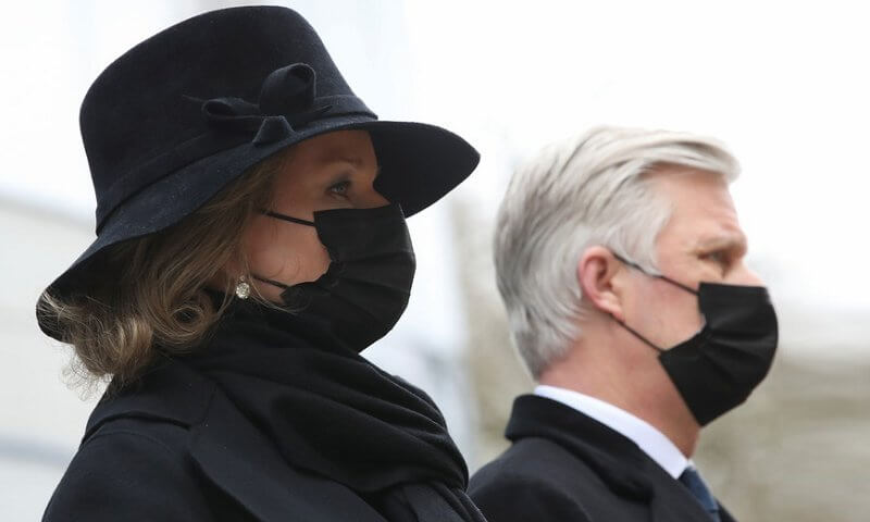 King Philippe and Queen Mathilde took part in a commemorative ceremony
