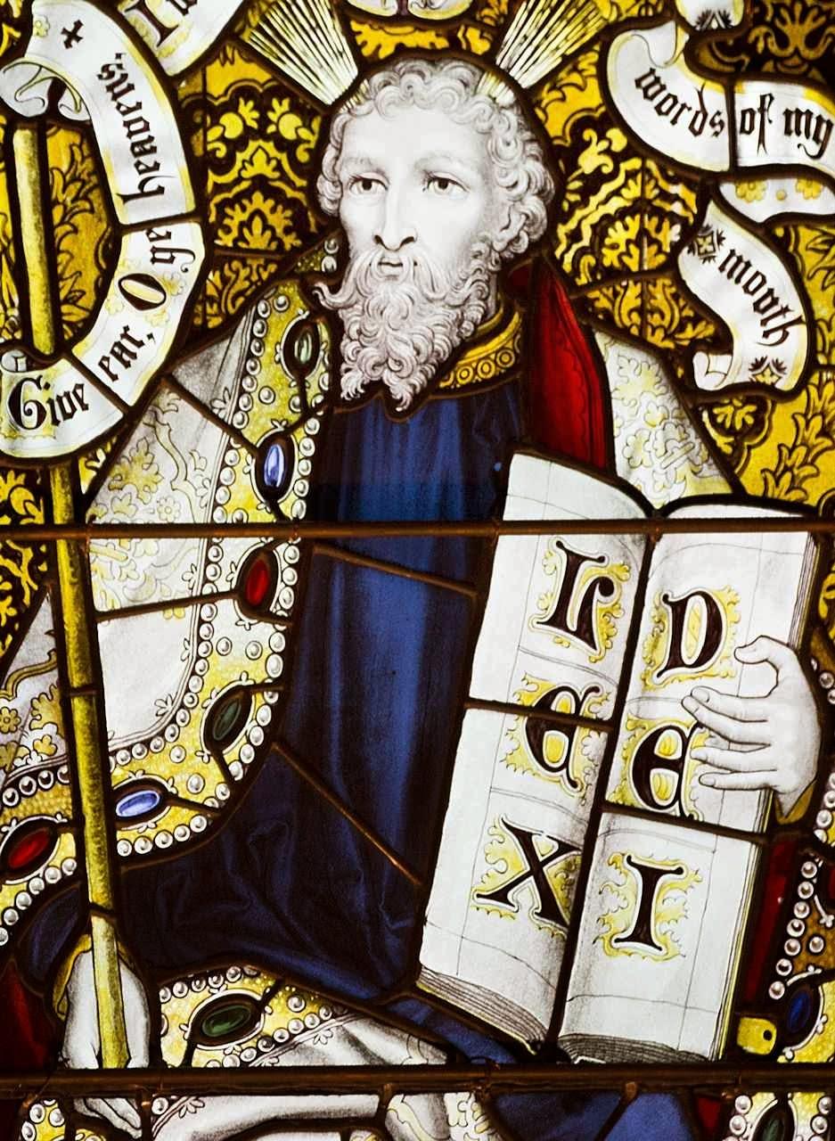 Moisés, catedral de Edinburgo, Escócia