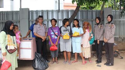 Program Jumat Barokah Rutin dilaksanakan, Masyarakat kurang Mampu sangat Bahagia
