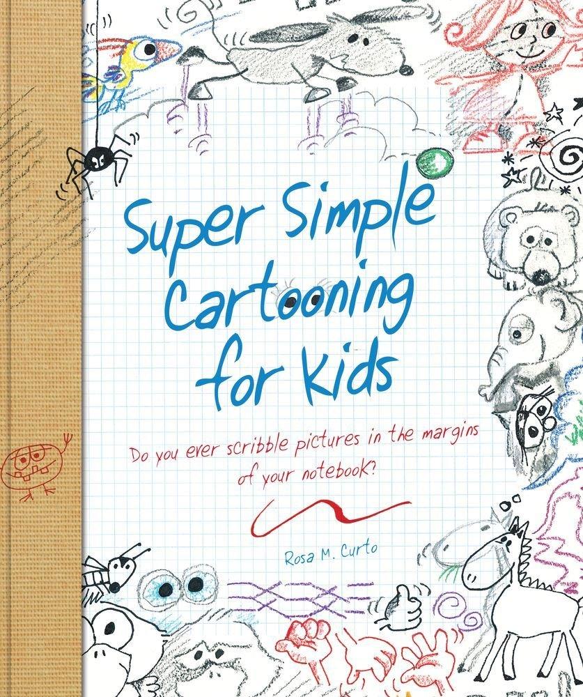 dad of divas reviews book review super simple cartooning for kids