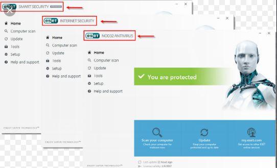 Update Key Eset Antivirus SMART SECURITY 9, 10, 11, 12, 13 ...