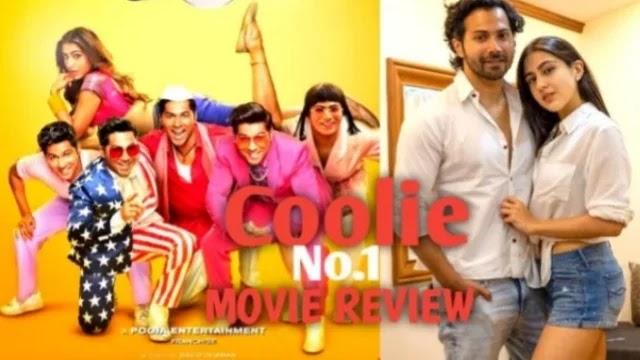 Coolie No1 Movie: Review ' कॉमेडी के नाम पर दिखाया ये काम ' गोविंदा ने कहीं ये बात देखें...