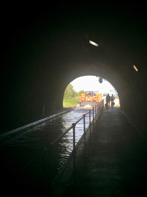 Falkirk Tunnel on Union Canal, Falkirk, Scotland