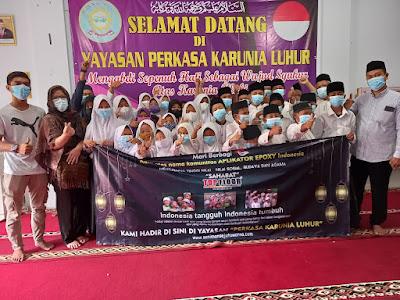 Memperingati Bulan Muharram, Komunitas Epoxy Indonesia Adakan Santunan Untuk Anak Yatim