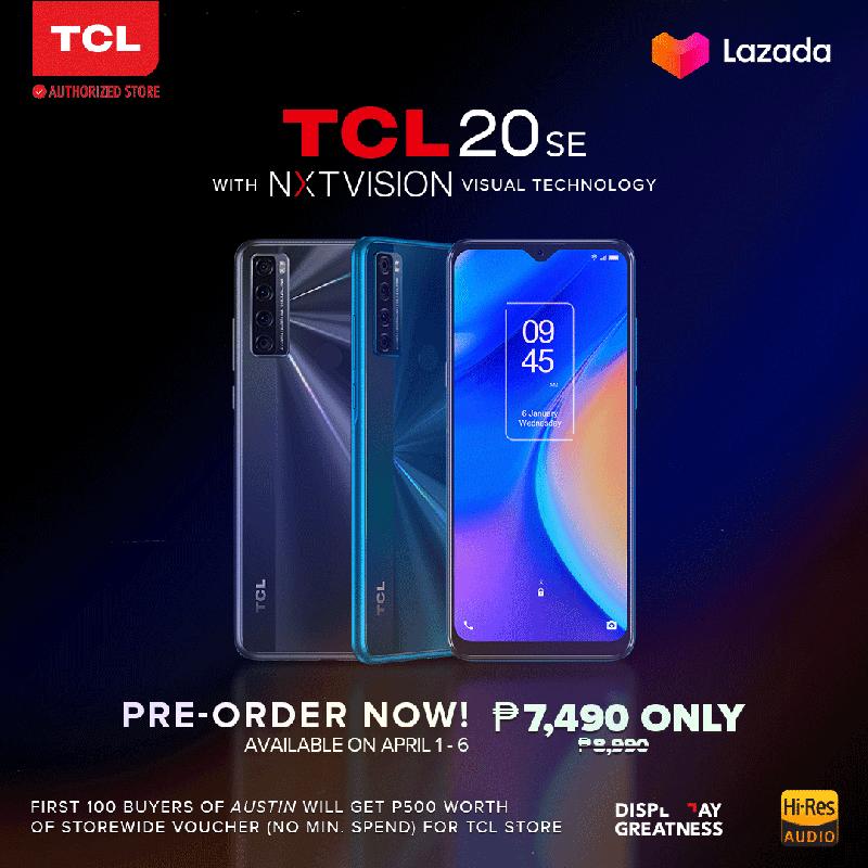 TCL 20 SE price in PH