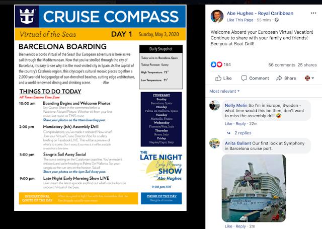 Best virtual cruise travel experiences Virtual of the Seas