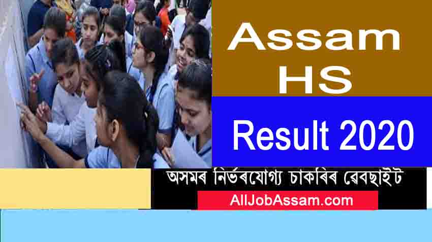 AHSEC 12th Result 2019- Assam HS Result 2019 Check Marksheet @ahsec.nic.in