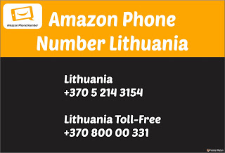 Amazon Phone Number Lithuania