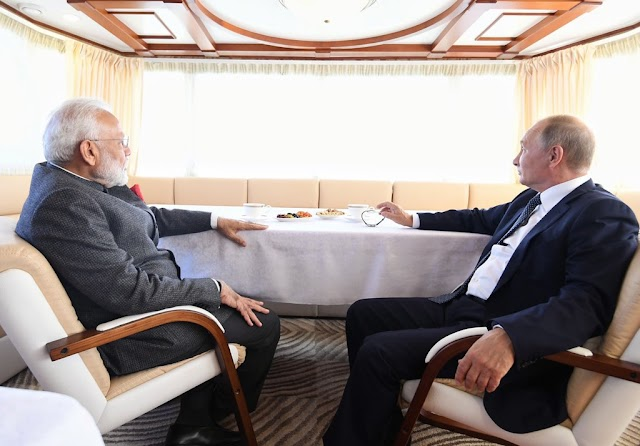 Narendra Modi : Scripting new chapters of India-Russia friendship!