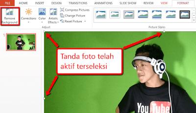 Tutorial Cara Mudah dan Cepat Menghilangkan Background Foto Menggunakan PowerPoint