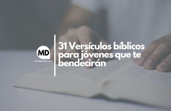 Versículos bíblicos para jóvenes
