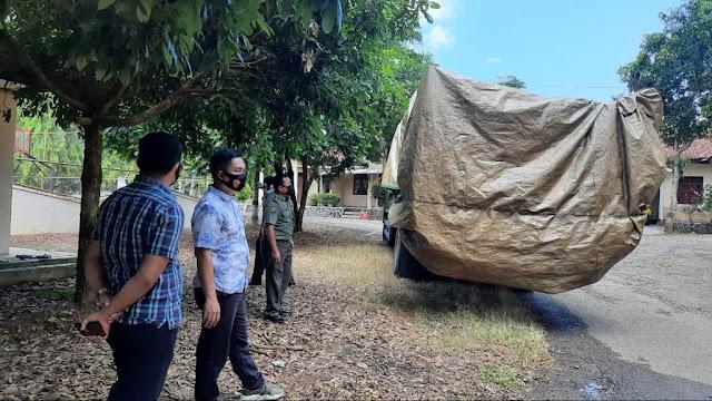 Tipiter Polres Lampura Amankan  Satu Mobil Puso  Kayu Sonokeling