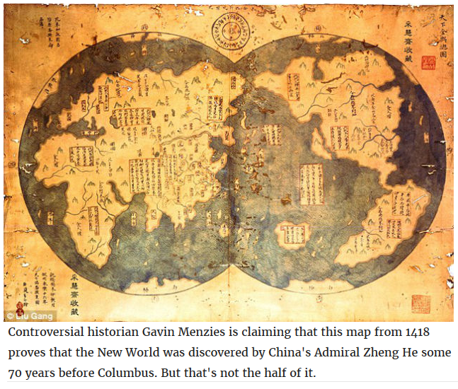 did the chinese discover america Why china didn't discover america because even though the chinese discovered taiwan and the philippines before the europeans did and had all the advantages of.