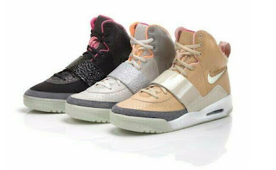 WHAT YEAR DID THE NIKE AIR YEEZY DEBUT?