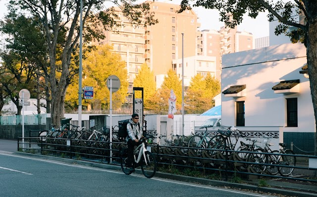 Japan - the land of bicycles