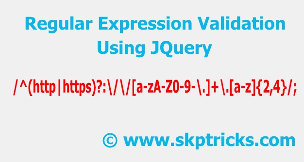 User Defined Function to validate Regular expression in